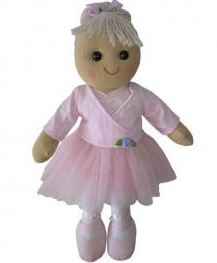 LARGE VINTAGE RAG DOLL - BELLA