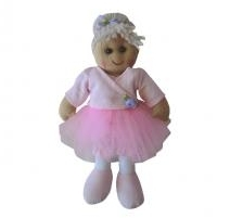 SMALL VINTAGE RAG DOLL - BELLA