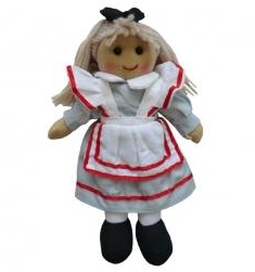 SMALL VINTAGE RAG DOLL - ALICE