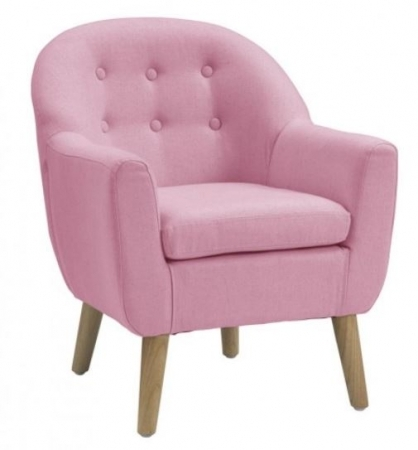 LUXURY PINK TUB CHAIR