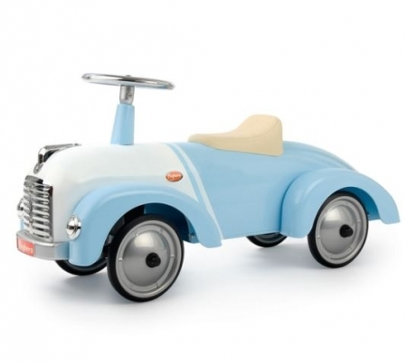 OLIVER - Baby Blue Vintage Ride On Car