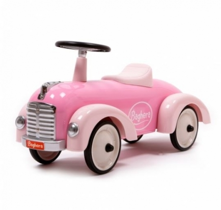 OLIVIA - Pink Vintage Ride On Car