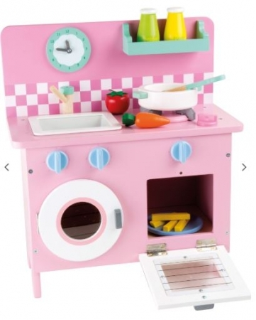 PASTEL MINI PERSONALISED PINK KITCHEN