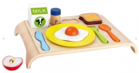 WOODEN PERSONALISED BREAKFAST SET