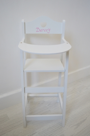 AYLA - Personalised Dolls High Chair
